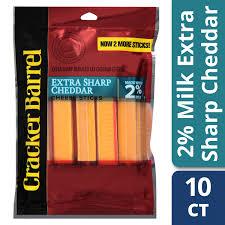 Cracker Barrel Light Cheese Cracker Barrel Reduced Fat Extra Sharp Cheddar Cheese Sticks