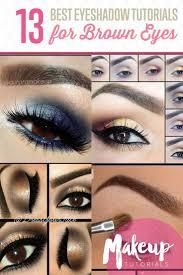 description 13 of the best eyeshadow tutorials for brown eyes