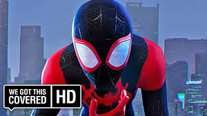 spider man into the spider verse multiverse trailer hd liev schreiber mahershala ali