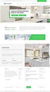 Kitchen Design Wordpress Theme Kitgreen Responsive Wordpress Modern Kitchen Theme