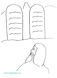 10 Commandments Coloring Pages Commandments Coloring Pages S S Ten
