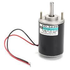 12 24v 30w permanent magnet dc electric motor high sd cw ccw diy generator