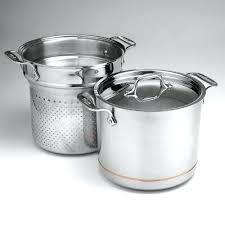 all clad pasta pot. Allclad Pasta Pot All Clad Copper Core 7 Quart Instructions