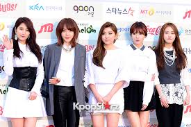 4minute Attends The 3rd Gaon Chart Kpop Awards Feb 12