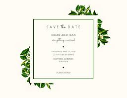 Save The Date Postcard Template Postermywall
