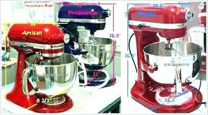 kitchenaid 7 quart mixer 7 quart mixer mixer sizes mixer dimensions stand mixers dimension and sizes