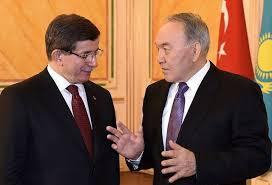 Картинки по запросу фото Нурсултан Назарбаев на встрече с премьером Ахметом Давутоглу.