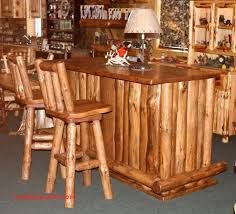 log rustic furniture amish. Amish Rustic Pine Bar Stool With Swivel Log Furniture B