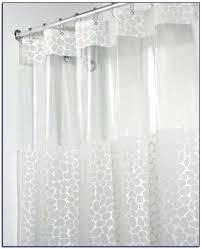 standard shower curtain size length best stall home design ideas
