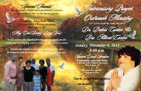 Church Programs - Memphis, Tn