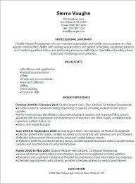 Receptionist Description Resume Best Resume Template Whizzme Extraordinary Receptionist Duties Resume
