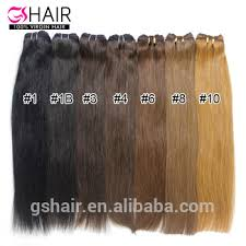 Top Quality Hair Factory Unprocessed Full Cuticle No Shed No Tangle Hair Weave Color 4 Buy Hair Weave Color 4 Organic Hair Color Hair Color Chart