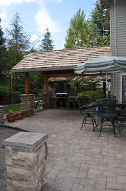 Outdoor Kitchen Patio Outdoor Kitchen Designs For Portland Oregon Landscaping