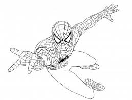 Small Picture Coloring Pages Free Printable Spiderman Coloring Pages For Kids