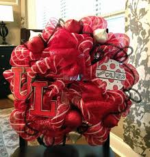 ragin cajun deco mesh wreath gift for my in laws can