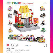 LG043] Đồ chơi lego Cửa Hàng Đường Phố - Đồ chơi lego cho bé gái phát triển  trí thông minh tại Hà Nội