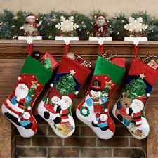 christmas stocking set. Modren Christmas Holiday Cheer Stockings Red Four Piece Set For Christmas Stocking P