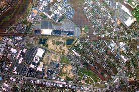 aerial map of the costco site in context at the garden state park development credit matt skoufalos