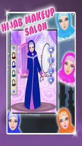 hijab makeup salon s game screenshot 1