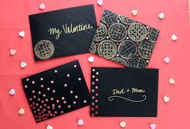 2 diy valentine s day cards
