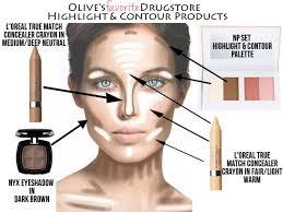 natural contour makeup photo 1