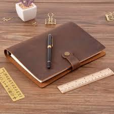 great source fancy leather portfolio leather 6 rings binder bag binder folder for a5 notebook planner free malaysia senarai harga 2019