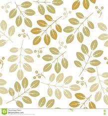 De Lente Eindeloos Patroon Met Groene Bloemen En Bladeren Vector