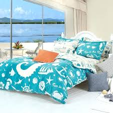 beachy bedding sets sea shell comforter sets ocean print comforter seashell bedding sets design a canopy