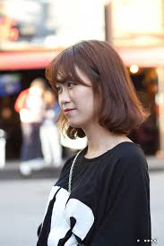 タンポポヘアー 美容室 韓国ストリット ヘアスタイル ミデュムボブの