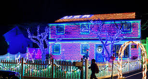 Mr. Pampena's home is adorned with 58,000 lights this year. Credit Gregg  Vigliotti for The New York Times