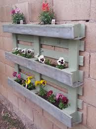 pallet wall planter box ideas pallets designs