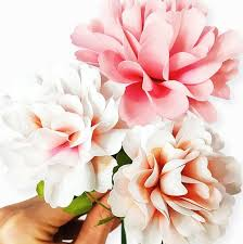 Paper Flower Printables Carnation Paper Flower Templates Catching Colorflies