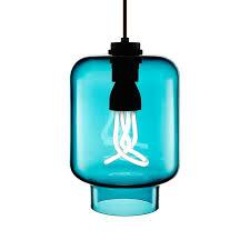 axia pendant in colour tulip niche modern crystalline series with baby plumen 001 designer light bulb
