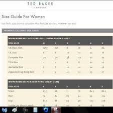 Ted Baker London Men S Size Chart Ted Baker Size Chart Best Picture Of Chart Anyimage Org