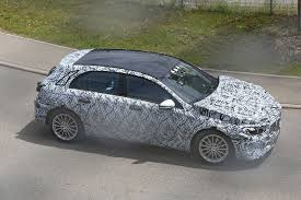 mercedes benz a klasse 2018. Wonderful 2018 Allnew 2018 Mercedes AClass Spied For The First Time With Mercedes Benz A Klasse