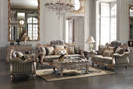 Upholstered Living Room Sets Homey Design Hd 287 Slc Tranditional 3 Pcs Sofa Loveseat And Chair Set