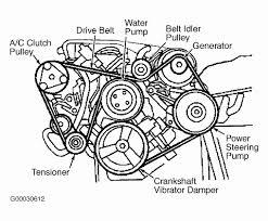 4 2002 ford taurus serpentine belt diagram inspirational 2002 ford taurus serpentine belt routing and timing belt