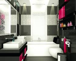 black and pink bathroom hot pink black bathroom design black and pink bathroom rugs