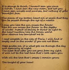 The Most Beautiful Quotes Ever Written Best of Will's Letter To Jocelyn A Knight's Tale How I Love That Movie