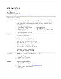 Strength And Conditioning Resume Examples Assistant Baseball Coach Resume Samples Examples Tomyumtumweb Com 8