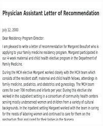 Nurse Reference Letter Beauteous Nurse Recommendation Letter Medicine For Med School Sample From