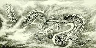 chinese dragon painting cnag008723