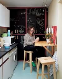 yes you too can have an eat in kitchen ikea s wall mounted drop leaf tables