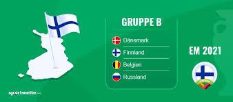 Dänemark besiegt russland am montagabend vor heimischer kulisse mit 1:4 und qualifiziert sich für das achtelfinale. Finnland Russland Prognose Em Wett Tipp 16 06 2021