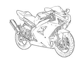 Zx6r outline for coloring kawi s kawasaki motorcycle s