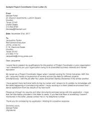 program manager cover letter samples sample sap project manager cover letter materials manager