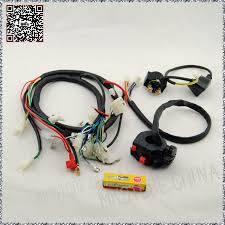 250cc ngk spark plug switch solenoid quad wiring harness chinese 200 Spark Plug Gasket at Spark Plug Wire Harness