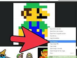 Minecraft Pixel Art Template Maker Easy Creator Voipersracing Co