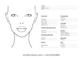 Makeup Charts Free Face Chart Photos 20 428 Face Stock Image Results