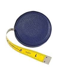 leather tape measure indigo leather from blue sky papers